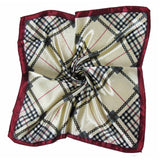 50 * 50 CM 22 Colors Ladies Scarves Four Seasons Available Woman's Professional Small Squares  New Design Silk Scarf