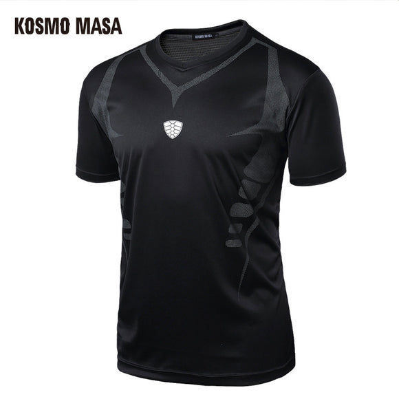 KOSMO MASA 2017 Men's Quick Dry Breathable T-Shirt Fitness Hip Hop T-Shirts Men Jersey T Shirt MC0142