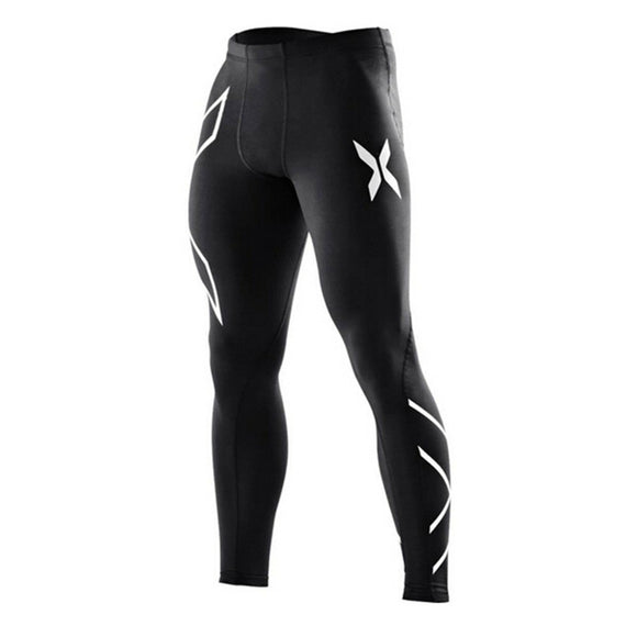 2017 New Brand Clothing  Mens Compression Tights Pants Male Quick-drying Sweatpants