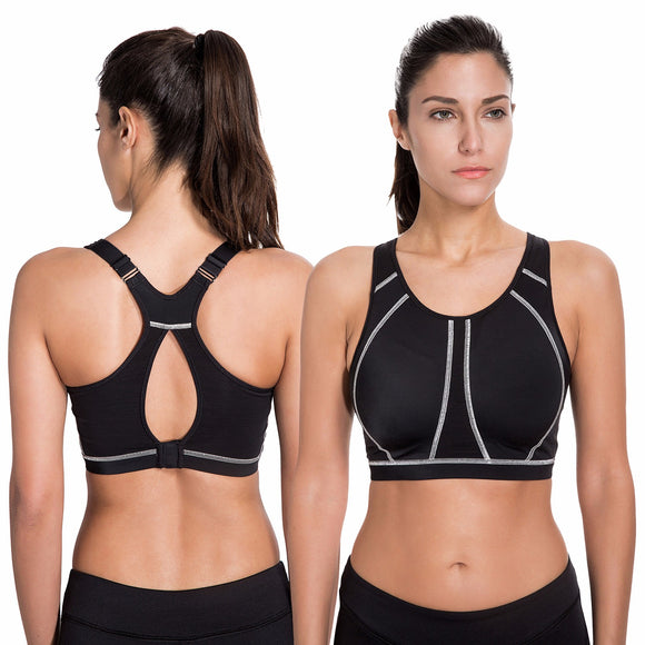 Women's medium impact Full Coverage Sports Bra