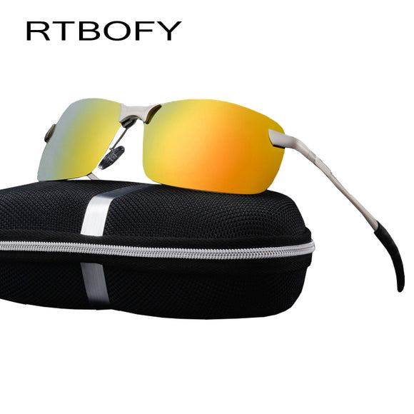 RTBOFY Car drivers night vision Goggles Anti-glare Polarizer Sunglasses Polarized Driving Glasses With Box.3043 Men Sun Glasses