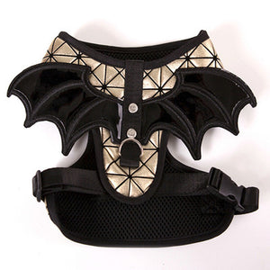 PETPETROL 2018 Bling Walking Puppy Pet Harness Batman Wing Design Pet Accessories