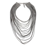 ATHENA 2018 Luxury metal chain choker Maxi shining Necklace egypt style trendy2017 Multilayer Wedding Collier Fashion jewelry ethnic vintage