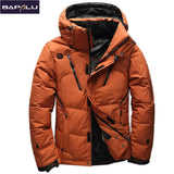 2017 High Quality 90% White Duck Thick Down Jacket men coat Snow parkas male Warm Brand Clothing  winter Down Jacket Outerwear