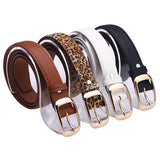 Fashion Belts for Women  Leather Metal Buckle Straps Fashion Accessories