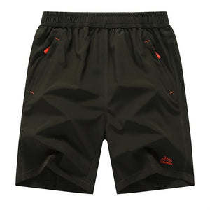 big size elastic waist shorts plus big size men summer light casual beach boardshorts gasp casual shorts men Quick-drying shorts