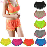 WEIXINBUY Women Short Fitness Shorts Summer Casual Breathable Cool Shorts