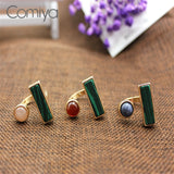 ATHENA 2018 Geometric Stone Charms Fashion Hot Boho Zinc Alloy Open Bangues For Women Finger Rings Wholesale Wedding Ring Jewelry