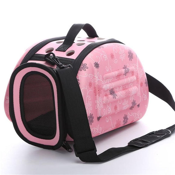 PETPETROL Foldable Pet Carrier Outdoor Travel Shoulder Hand Bag Soft Comfortable Pet Kennel