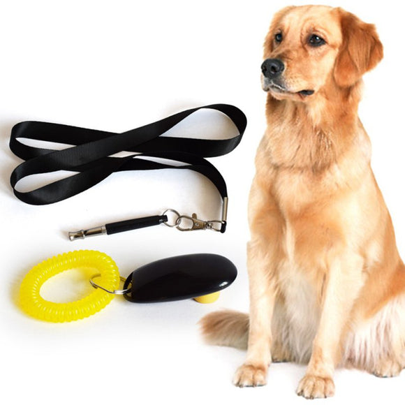 PETPETROL 2018 Ultrasonic Dog Training Whistle + Pet Training Clicker + Free Lanyard Set Pet Gadget Accessories