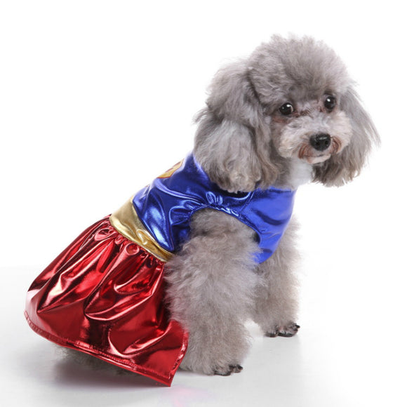 Wonder Woman Dog Costume - Pet Clothing by Pet Petrol
