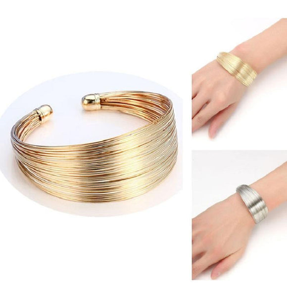 ATHENA 2018 brand Classic Opening Alloy Wide big Cuff Bracelet For women Jewelry Vintage punk Elegant Maxi Bracelets & Bangles