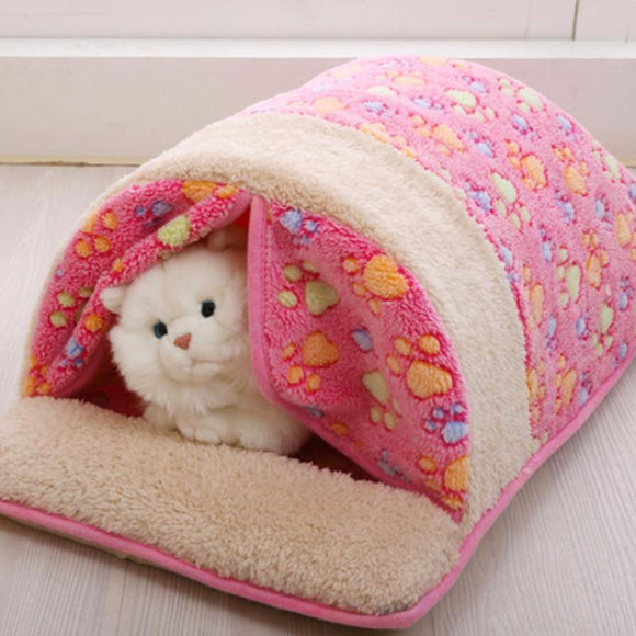 PETPETROL 2018 Pet House Warm Sleeping Bed  Soft Mat Cushion Dog Cat High Quality Kennel