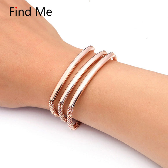 ATHENA 2018 Fashion Vintage Multilayer Magnet Wrap Bracelets & Bangles for Women Jewelry boho copper pipe long Chain Bracelet