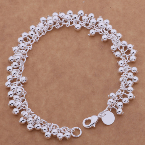 SL-AH035 Wholesale silver plating bracelet, 925 stamped silver fashion jewelry grape /bcxajuea abwaitda