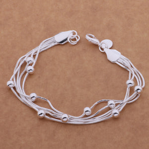 SL-AH018 Wholesale silver plating bracelet, 925 stamped silver fashion jewelry fantastic /bcgajtna abfaisma
