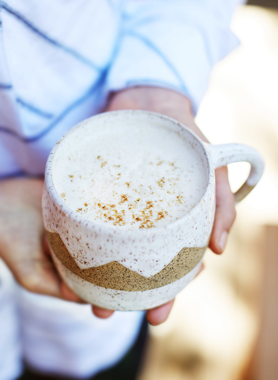 Say Good Morning With A Heavenly Maca Latte