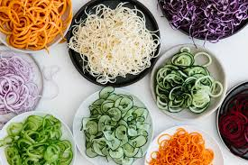 What do I do with spiralized veggies? by Julie Morris