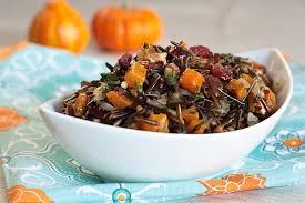 Wild Rice with Kabocha Squash & Sage Butter - by Julie Morris