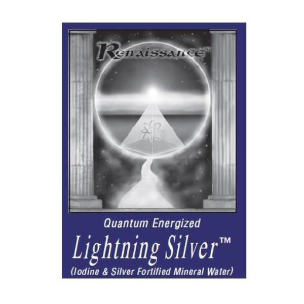 Renaissance Lightning Silver Cleansing Mineral Water<br>Exsula Superfoods
