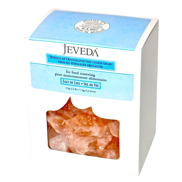Crystal Salt Rocks Bath Therapy by Jeveda
