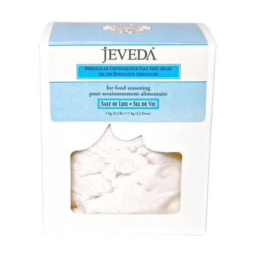 Crystal Whole Food Salt Fine by Jeveda