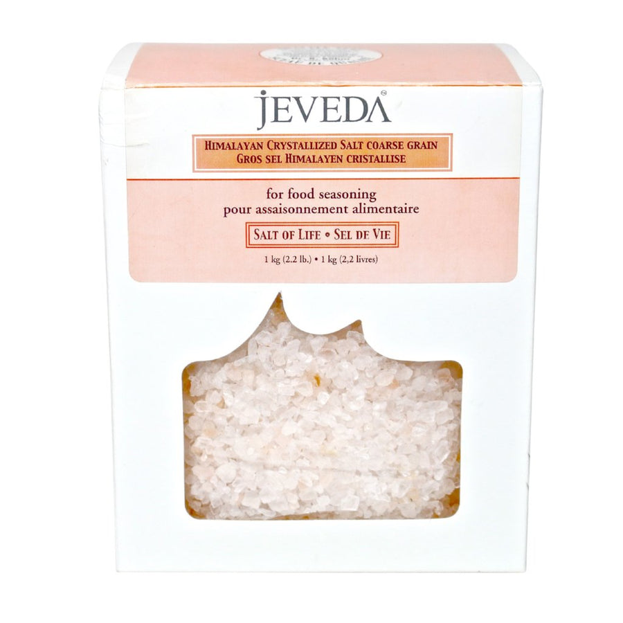 Himalayan Crystalized Coarse Grain Crystal Salt<br>Jeveda