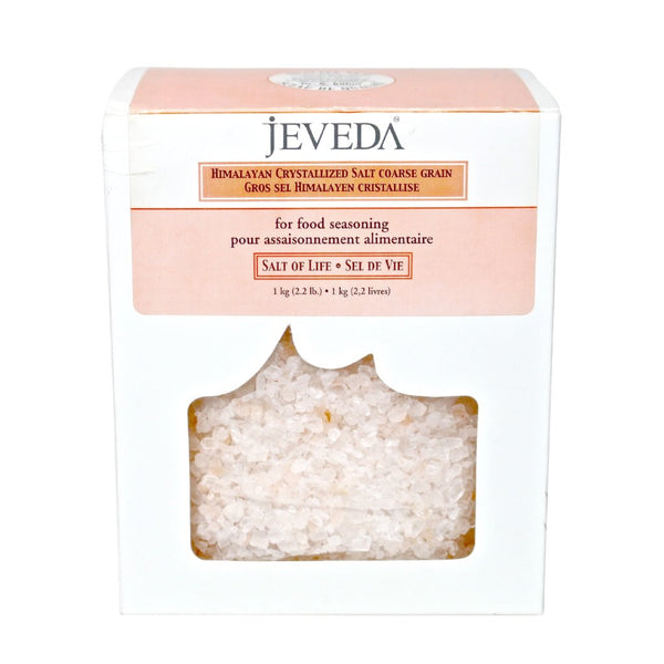Crystal Whole Food Salt Coarse by Jeveda
