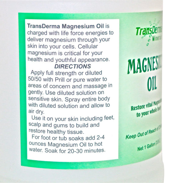 Magnesium Essential Mineral Oil by Transderma Minerals