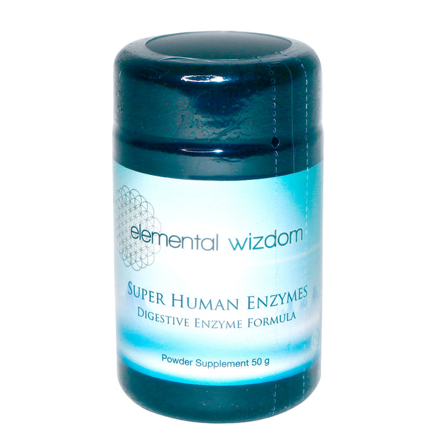Super Human Digestive Plant-Based Enzymes by Elemental Wizdom