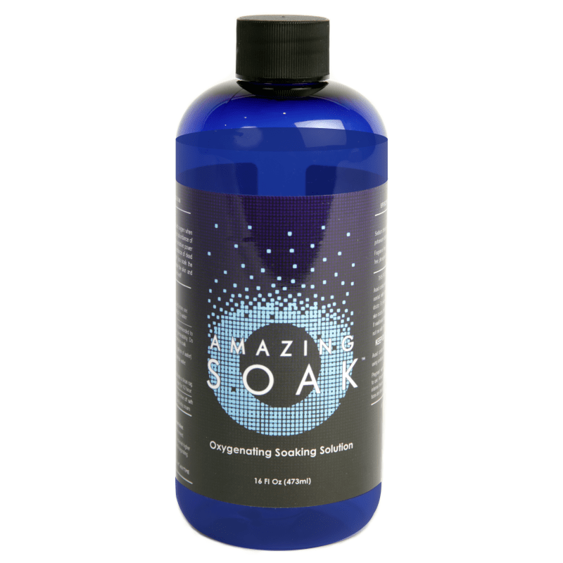 Oxygenating Electrolyte Solution - Transdermal & Aerosolized Dissolved Oxygen<br>Amazing Soak
