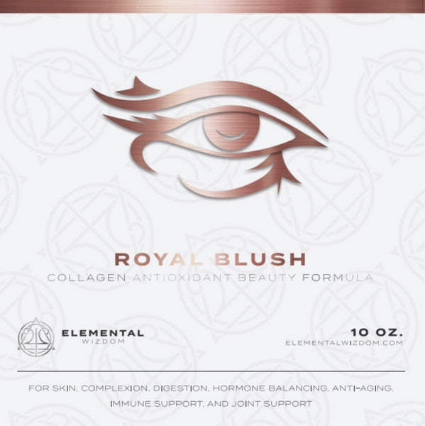 Royal Blush Collagen Antioxidant Beauty Enhancement Formula by Elemental Wizdom