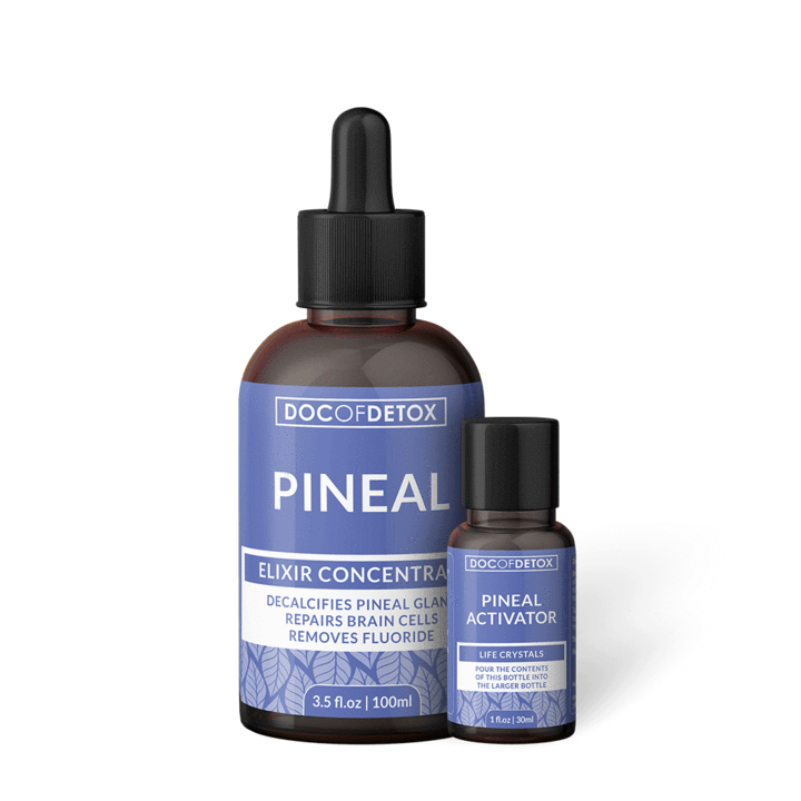 Pineal (decalcifies pineal gland, repairs brain cells, removes fluoride) by Doc of Detox