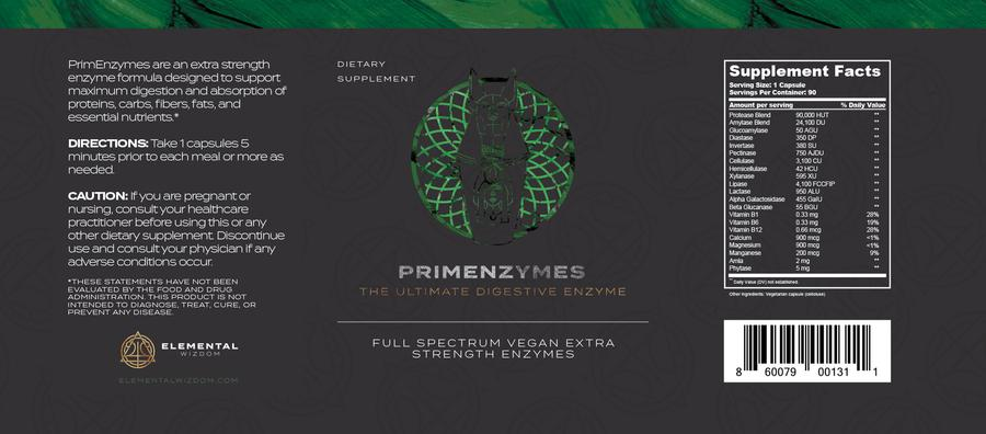 PrimEnzymes by Elemental Wizdom