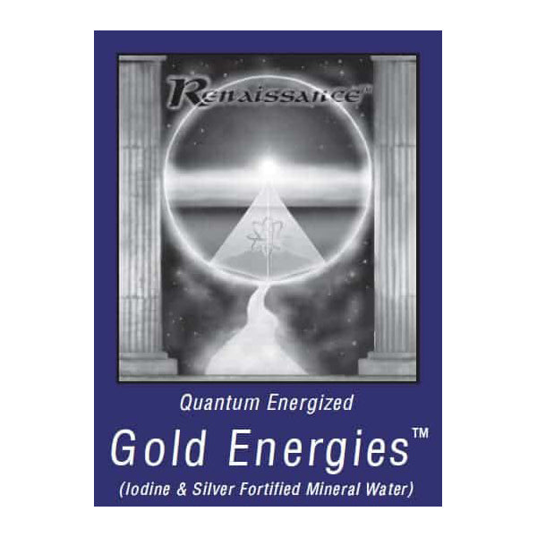 Renaissance Gold Energies Mental Support Mineral Water<br>Exsula Superfoods