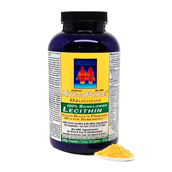 XtraPure Lecithin Beauty Superfood Formula by Exsula Superfoods