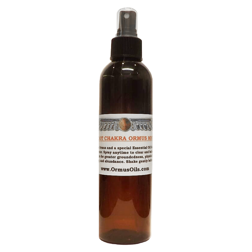 Root Chakra Ormus Mist by Ormus Oils