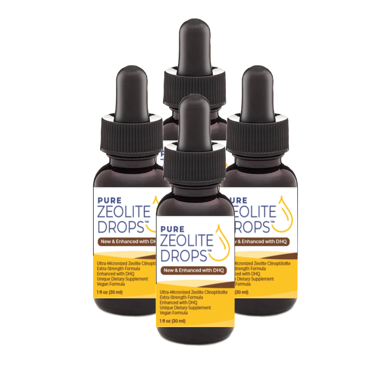 Pure Zeolite Drops Enhanced with DHQ by Liquid Zeolite Co.
