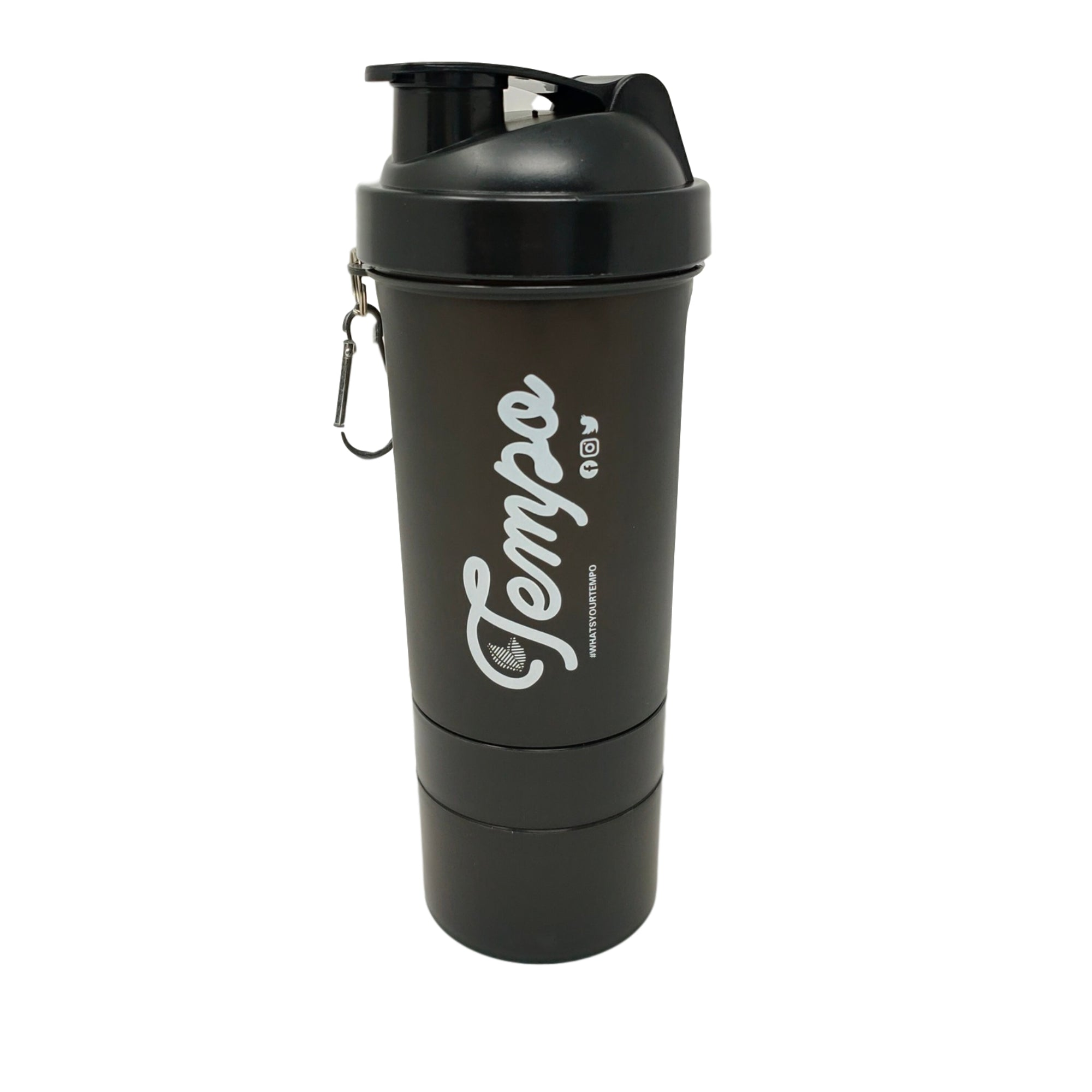 Tempo Gym Shaker Bottle (700ml) - Tempo Tea Bar