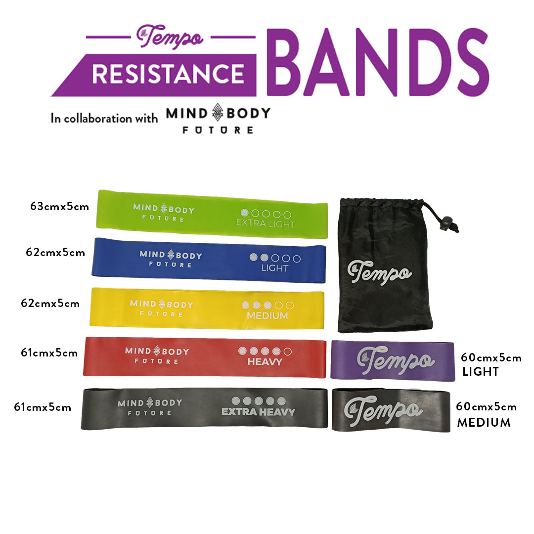 Tempo Mind Body Future Resistance Bands - Tempo Tea Bar