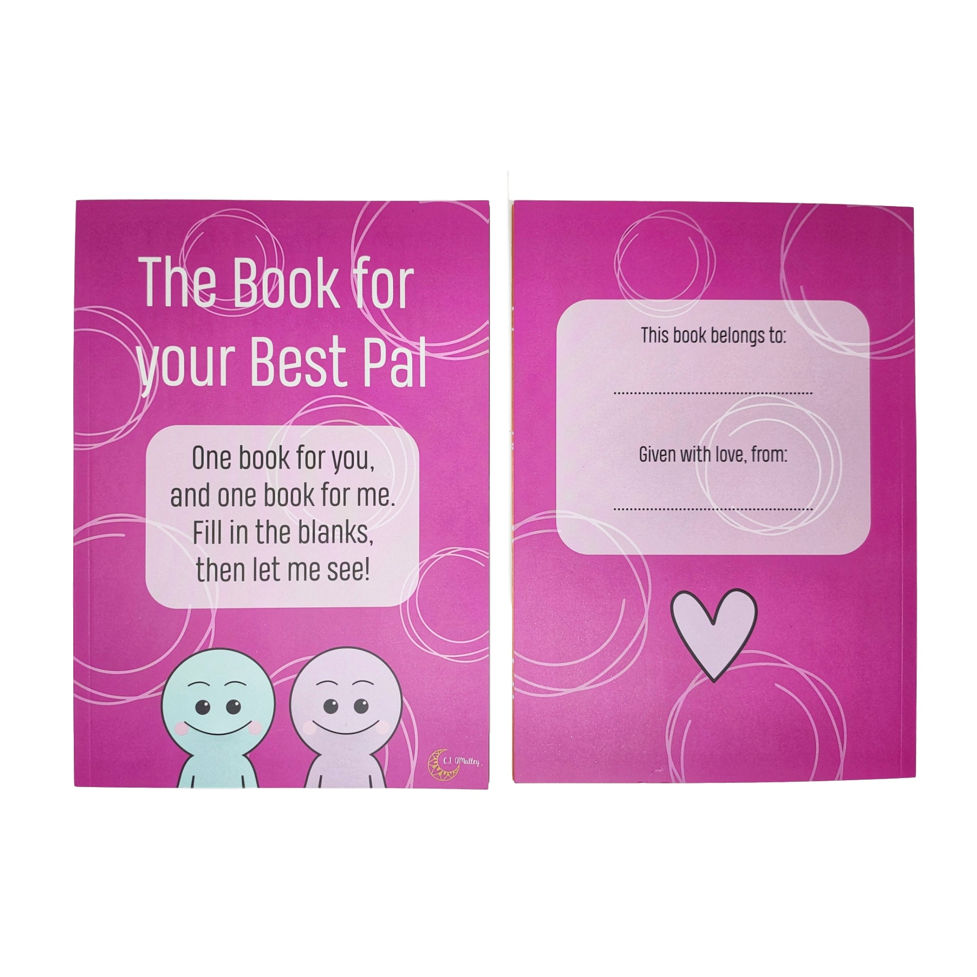 Best Friend Book (2) | One For You, One For Your Bestie! - Tempo Tea Bar
