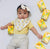 baby samy in vita lemon tea bib the wee bean