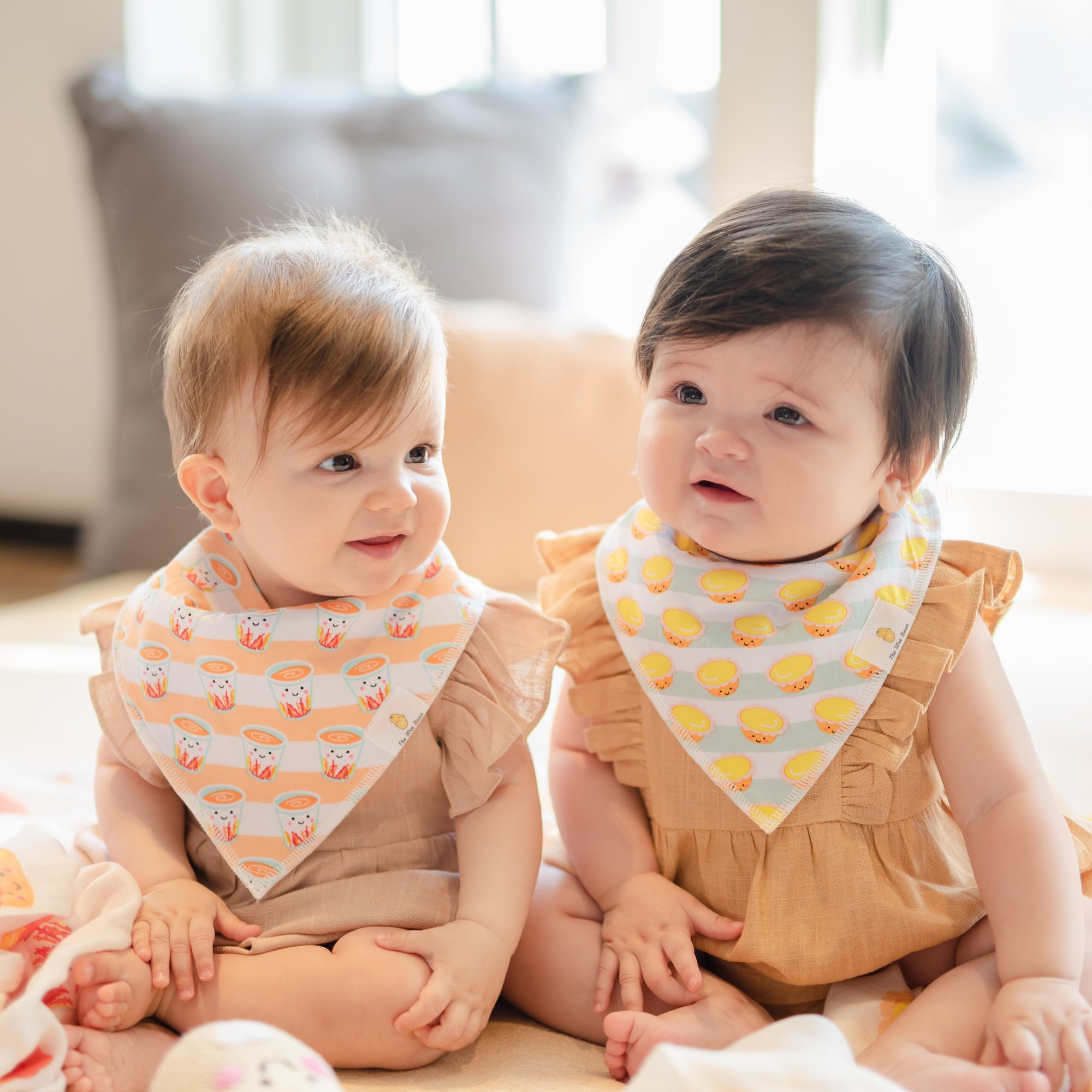 taste of hk collection the wee bean bandana bibs