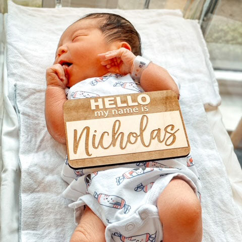 the wee bean of the month july 2021 baby nicholas