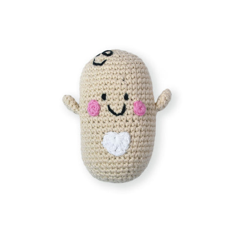 the wee bean fair trade handmade crochet knitted dolls charity pebble child hathay bunano