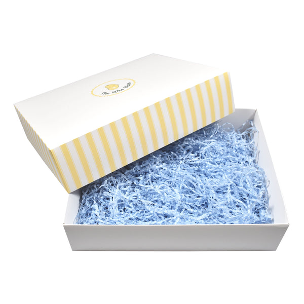 the wee bean boy blue gift box