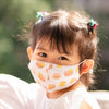 the wee bean organic cotton kids toddler organic cotton masks in dim sum