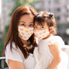 mommy and me matching mask organic cotton reusable fabric mask dim sum hargow siu mai taste of hong kong the wee bean