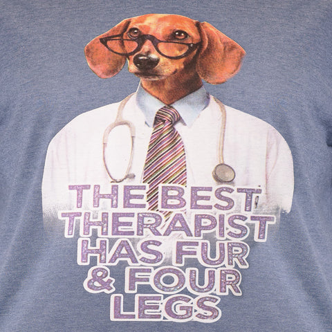 Best Therapist | Back Print - Its A Dogs Life | Clothing & Gifts