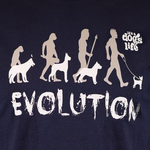 Evolution | Front Print - Its A Dogs Life | Clothing & Gifts